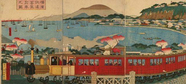 Os Caminhos-de-Ferro Japoneses