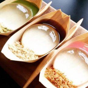Doces japoneses de gelatina